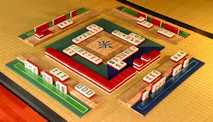 Creation de reglettes et d'Empire célèste. Mahjong